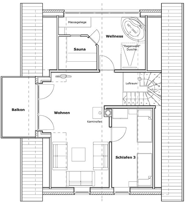 Ferienhaus-Halligwarft-Dachgeschoss